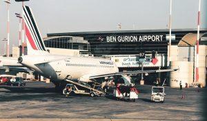 Аэропорт Бен Гурион Израиль