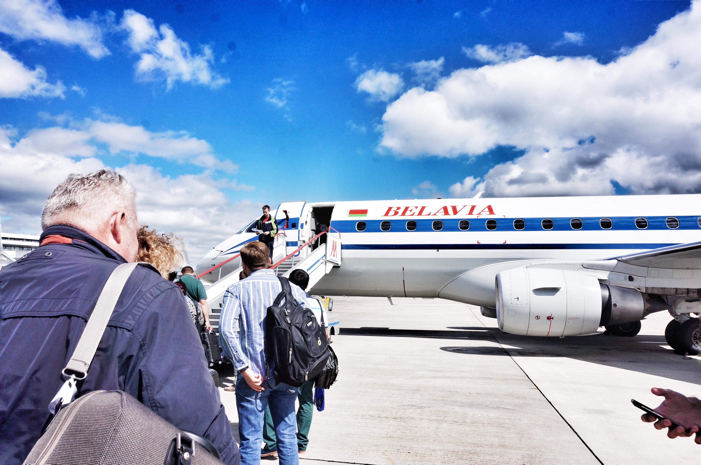 Узкофезюляжный самолет Белавиа